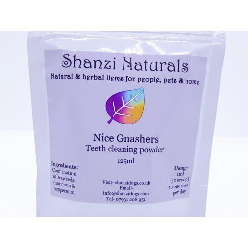 Nice Gnashers (teeth cleaning powders)- Shanzi Naturals