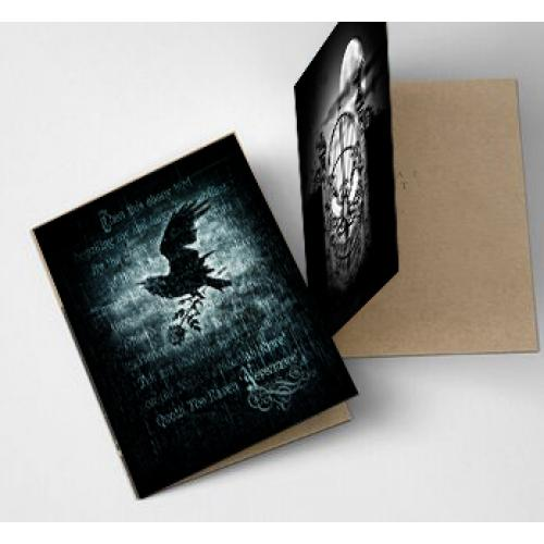ALCHEMY GOTHIC NEVERMORE GREETING CARD